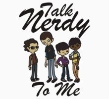 Talk Nerdy To Me (Big Bang Edition) by littlelithoniel