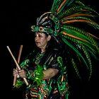 Aztec Drummer by Rimrunner