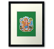 Hanuman - Hindu God - Bunch of Bhagwans Framed Print