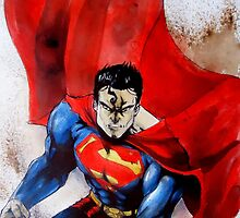 Superman by Leti Mallord