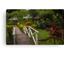 Bridge To Home Canvas Print