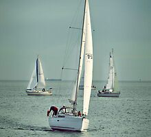 Sailing  by Karen E Camilleri