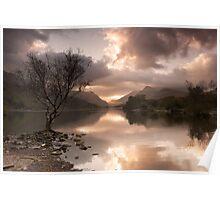 Sunrise over Llyn Padarn Poster