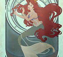 Ariel the Little Mermaid by gkcrdgn