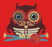 knitting needles owl paisley mustache steampunk skeleton Kids Clothes