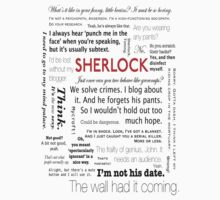 Sherlock Quotes by PepperWhite