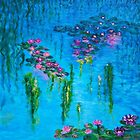 Deja Vu Water Lilies by Holly Martinson
