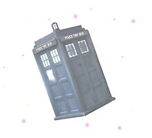 The Tardis by LibbyLion