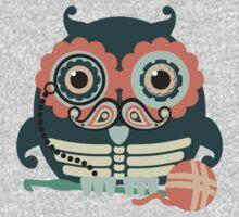 crochet hook owl paisley mustache steampunk skeleton Kids Clothes