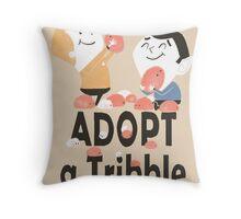 Adopt a Tribble Throw Pillow