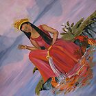 Kuan Yin Canvas Print by Henriott