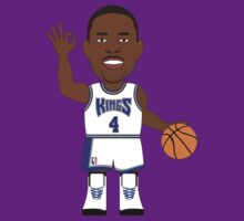 NBAToon of Chris Webber, player of Sacramento Kings by D4RK0