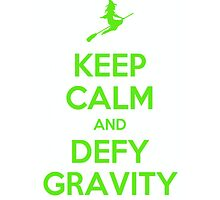 Wicked - Keep Calm and Defy Gravity by musicalproducts