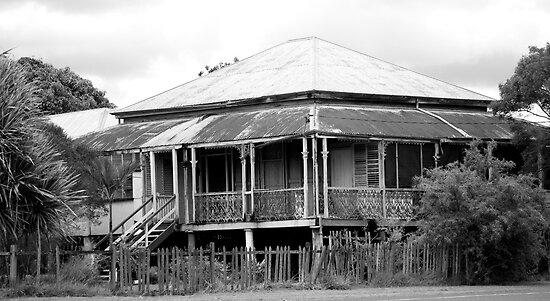 old queenslander by stickelsimages