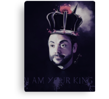 I AM YOUR KING! Canvas Print