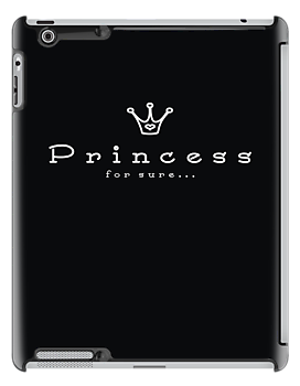 Princess for sure (black) by ivanaantolovic
