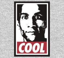 OBEY ABED, COOL? (variant) by huckblade