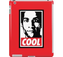 OBEY ABED, COOL? (variant) iPad Case/Skin