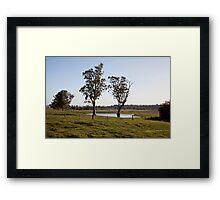 Farmlands, Buchanan NSW Australia Framed Print