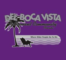 Del Boca Vista (Grey Print) by GritFX