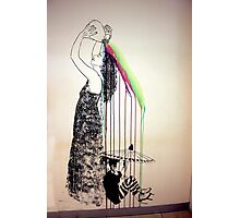 Rainbow Shampoo And Shower Photographic Print