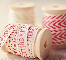 Christmas Ribbon  by slacey