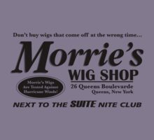 Morrie's Wig Shop (Black Print) by GritFX