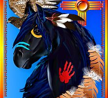 Black Stallion of Morning by Lotacats