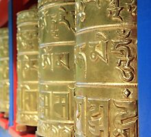 prayer wheels by SharronS