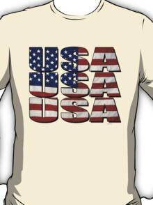 USA USA USA 4th July T-Shirt