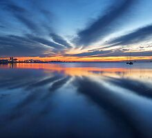 Day break - Corio bay by Hans Kawitzki