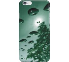 City After Rain (green) iPhone Case/Skin