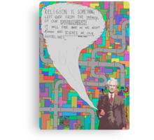 Bertrand Russell (BertrARTnd BRussell) Canvas Print