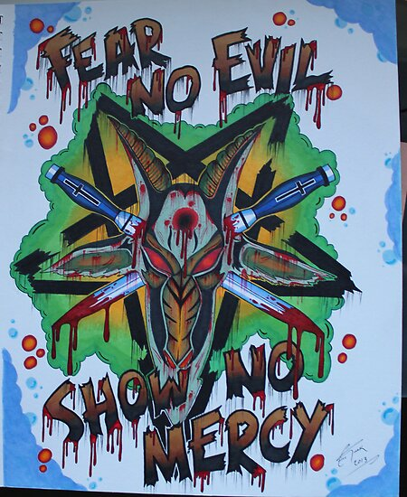 Fear no Evil! by ETdesigns