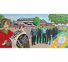 Mural - Fire Men House Photographic Print