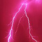 pink lightning by Gabe12345678