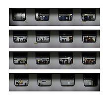 Paris Metro - Les Halles - Squared Photographic Print