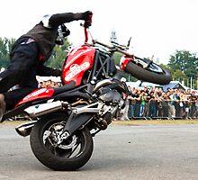 motorcycle stunt 008 by dirk hinz