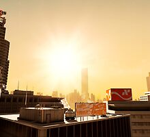 Mirrors Edge - Sunset by Patrick  Vedlog