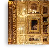 Golden Sikhism Canvas Print
