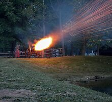 Conferderate Cannon at Beaver Creek State Park by Andy Donaldson