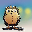 Hedgehog by womoomow