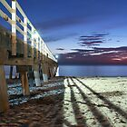 One night in Autumn beside the Grange Jetty by BBCsImagery