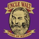 Uncle Walt (Color Print) by GritFX