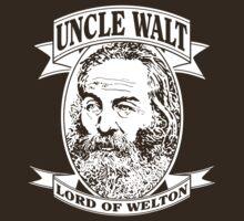 Uncle Walt (White Print) by GritFX
