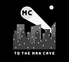 Man Cave 2 iPad by DavidAtchley