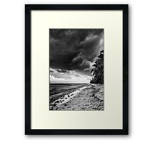 Dark 'n Stormy West Island Framed Print