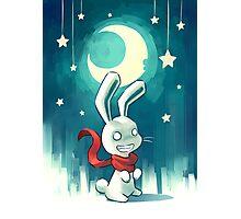 Moon Bunny 2 Photographic Print