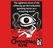 The Crawling Eye (B&W Print) by GritFX