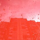 City After Rain (red) by ivanaantolovic